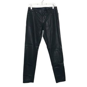 Jessica Simpson leather black skinny jeans